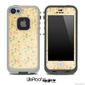 Vintage Tiny Polka Dot Pattern Skin for the iPhone 5 or 4/4s LifeProof Case