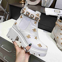 Womens GG ankle boots shoes-2