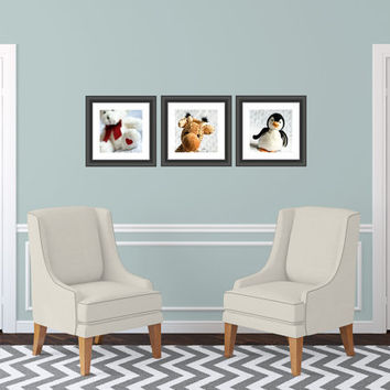 Set of Three 12x12 Custom Photography Print Your Choice Fine Art Unique Fathers Day Gift For Him