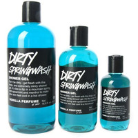 Dirty Springwash Shower Gel By Lush 3.3 Oz Made in Canada Ships From USA