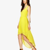 Lace Back High-Low Dress | FOREVER 21 - 2000048060