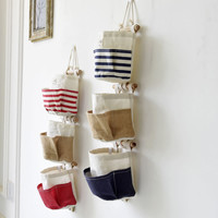 Cotton Linen Multi-functioned Bags Diy Storage Set [6268314630]