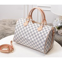 LV Louis Vuitton Fashionable Women Shopping Bag Leather Handbag Tote Shoulder Bag Crossbody Satchel