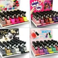 KleanColor Nail Polish (Matte) Display Set Case Pack 96