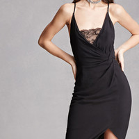 Knotted Lace Cami Dress