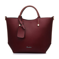 Catriona Leather Tote Bag
