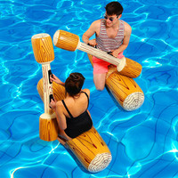 4 Pcs/set Inflatable Pool Raft Float Inflated Water Sports Toys