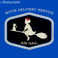 Witch Delivery Service - Gallery | TeeFury