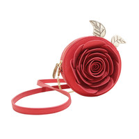 Disney Beauty And The Beast Rose Purse