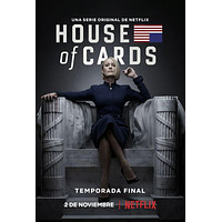 House Of Cards Season 6 Metal Print 8inx12in