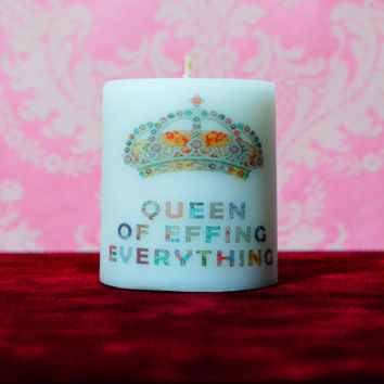 Queen Crown Candle