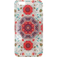 With Love From CA Clear Medallion iPhone 6 Case - Womens Scarves - White - One
