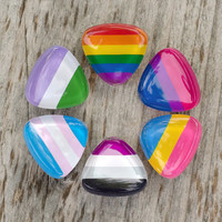 Made to Order - LGBT Pride Lapel Pins Ace Trans Genderqueer Gay
