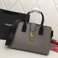 ysl women leather shoulder bags satchel tote bag handbag shopping leather tote crossbody 58