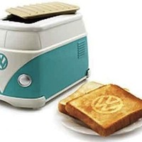 Volkswagen Original Minibus Toaster Limited Rare Blue color NEW