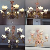 Luxury Crystal Chandelier For Princess Room