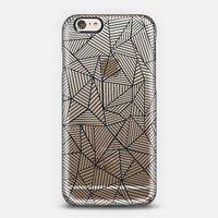 Abstraction Lines #2 Transparent iPhone 6 case by Project M | Casetify