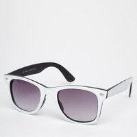 River Island Wayfarer Sunglasses at asos.com