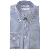 Gold Label Roundtree & Yorke Fitted Button-Down Collar Dress Shirt - N
