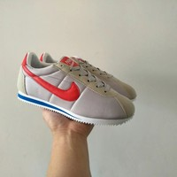 """Nike Cortez"" Unisex Sport Casual Cloth Surface Running Shoes Couple Retro Fashion Sneakers"