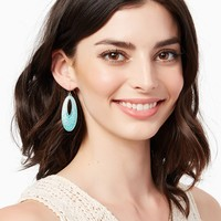 Kassia Oval Earrings | Fashion Jewelry - Southwest Style | charming charlie