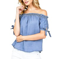 Airy Off Shoulder Blouse