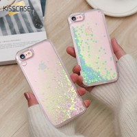 Opalescent liquid glitter iPhone case