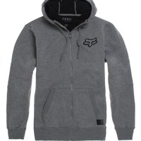 Fox Kounter Sherpa Zip Hoodie - Mens Hoodie - Black