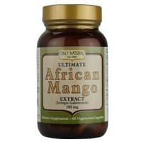 Only Natural Ultimate African Mango, 60-Count