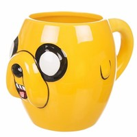 Adventure Time Jake 3D Ceramic Mug : TruffleShuffle.com