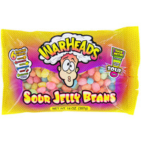 WarHeads Sour Jelly Beans: 14-Ounce Bag