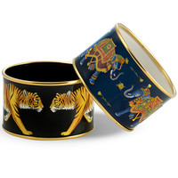 Halcyon Days Tiger and Elephant Bangles (Assorted Sizes and Styles) | Bangles | Halcyon Days | Collectibles | ScullyandScully.com