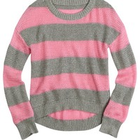 Striped High-low Sweater | Sweaters | Clothes | Shop Justice