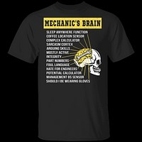 Mechanics Brain T-Shirt