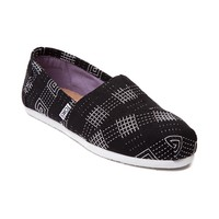 Womens TOMS Classic Embroidered Slip On Casual Shoe