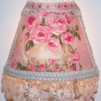 Pink Teapot and Lace Nightlight
