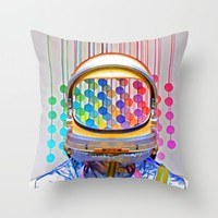 spacePOP Throw Pillow by Robert Alan