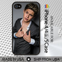 Niall Horan One Direction iPhone 4 4S 5 Case Cover Skin Black White