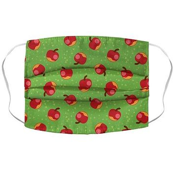 Apple Pattern Face Mask Cover