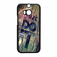 Nike Just Do It Wood HTC One M8 Case