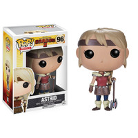 Funko POP! How to Train Your Dragon 2 Movie - Vinyl Figure - ASTRID (Pre-Order ships May): BBToyStore.com - Toys, Plush, Trading Cards, Action Figures & Games online retail store shop sale