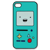 BMO Beemo FINN AND JAKE Design 4 Game Adventure Time iPhone Case 4 / 4S / 5 Apple Phone Cover Plastic