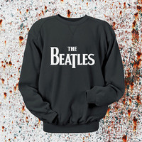 The Beatles Sweater Black, Blue, Gray, Orange, Red, and Yellow Sweatshirt Crewneck Men or Women Unisex Size