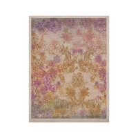 "Marianna Tankelevich ""Retro Summer"" Yellow Pink KESS Naturals Canvas (Frame not Included)"