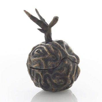 Brain Plum in Bronze