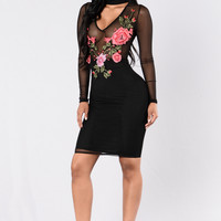 Cherish The Day Dress - Black