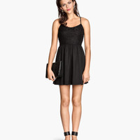 H&M Dress with Lace Bodice $24.95