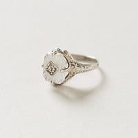 Frosted Camphor Vintage Ring
