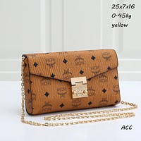 MCM Hot Selling Classic Chain Bag Fashion Ladies One Shoulder Messenger Bag