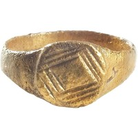 CHRISTIAN PILGRIM'S RING 5th-11th CENTURY AD